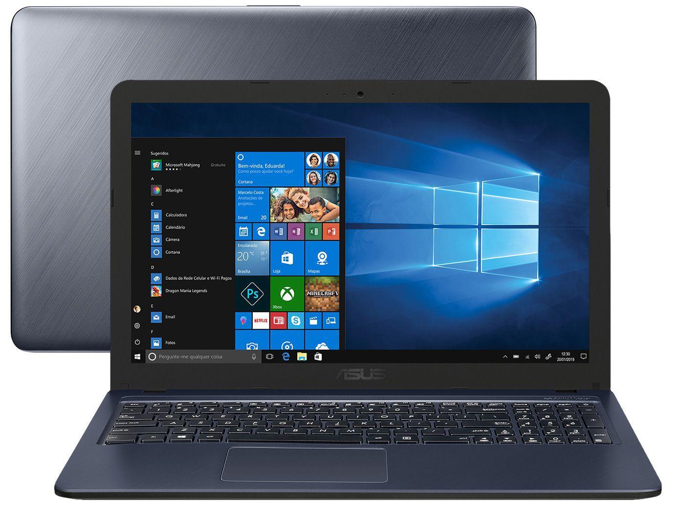 imagem de notebook do modelo Notebook Asus X515JA-EJ592T