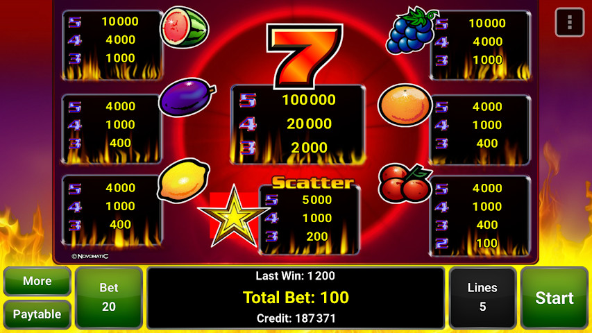 android Sizzling Hot™ Deluxe Slot Screenshot 13
