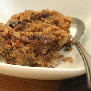 Rice Pudding With Brown Sugar And Dates.