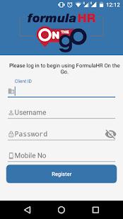 Formulahr - Mobile - náhled