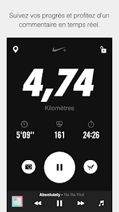 application nike running avis