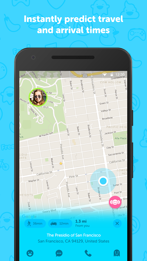 Zenly Locator - Realtime GPS- screenshot
