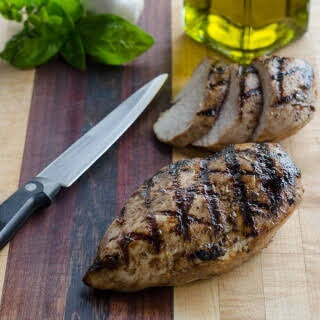 Easy Italian Dressing Grilled Chicken Breasts.
