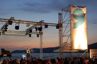 """Photo: Acciaroli, Pollica (SA) - Festival 'U Viecchiu 22 luglio 2011, """"Maredamare"""" con Alessandro Nidi e Mascia Foschi"""