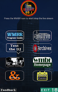 WMBR- screenshot thumbnail