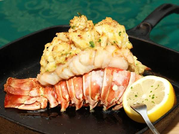 Crab Piggyback Lobster Tails Recipe