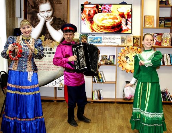 Артисты ВГИИК выступили в Центральной библиотеке им. Агашиной