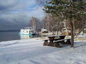 Photo: Банька на берегу