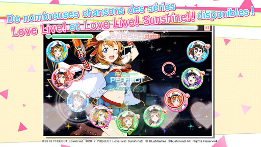 Love Live! School idol festival - Jeu de rythme captures d'u00e9cran 2