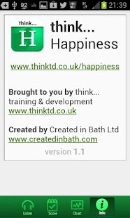 think...Happiness- screenshot thumbnail