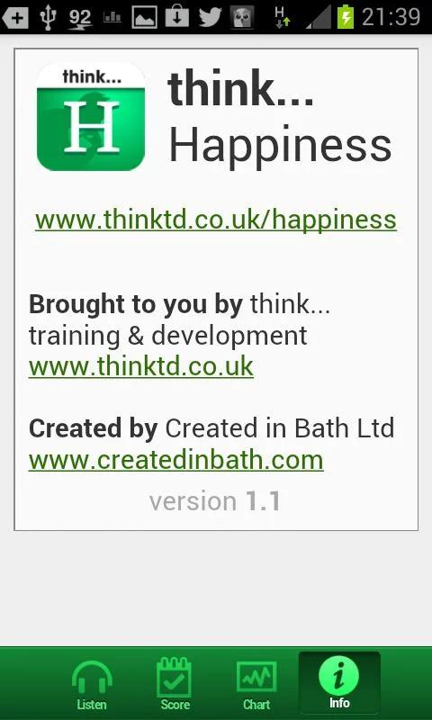 think...Happiness- screenshot