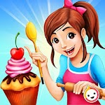 Cupcake Bakery Shop - Kids Food Maker Games Icon