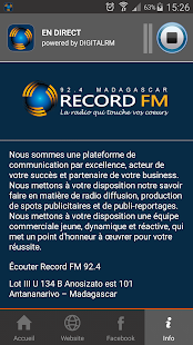 Record FM Madagascar- screenshot thumbnail