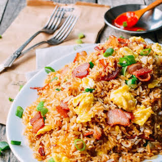Chinese Egg And Vegetable Fried Rice Recipes.
