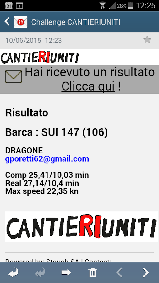 Sailing Regatta CantieRIuniti- screenshot
