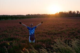 Photo: ;)  Po zachodzie słońca nie robiłem już zdjęć. Trasa standardowa. Opawa-Karniów-Prudnik. W Prudniku nasze drogi się rozstają. Grzesiu ma przerwę na stacji paliw i pruje do Opola. Ja mam już luzik ;)
