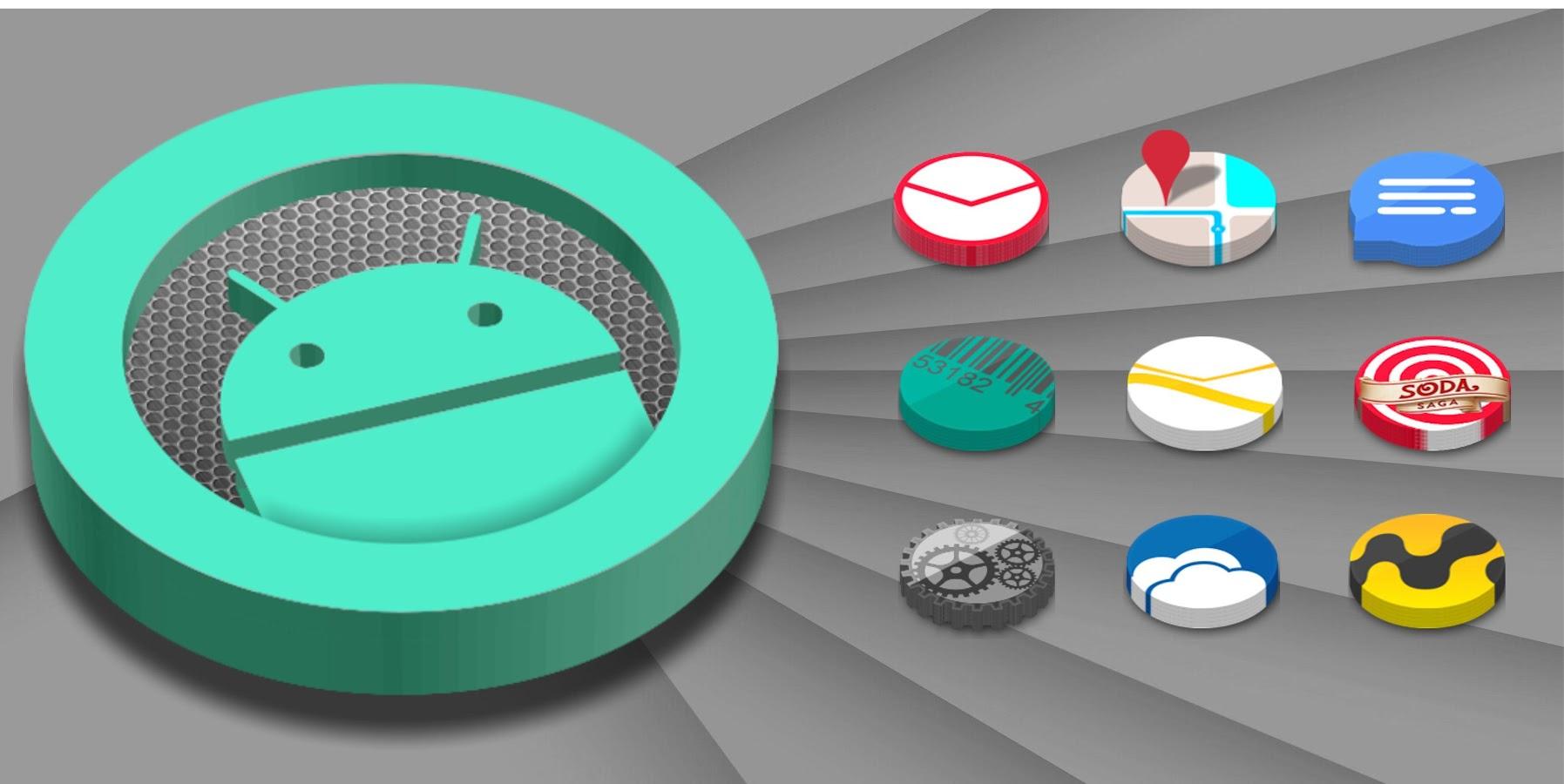 3D Icon Pack - screenshot