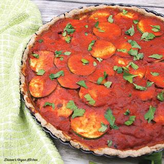 Vegan Lasagna Tart.