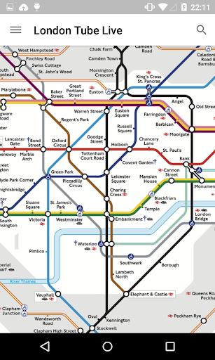 London Tube Live Pro screenshot 1