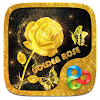 Golden Rose Parallax Go Launcher Theme