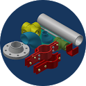 Pipe and Fitting icon