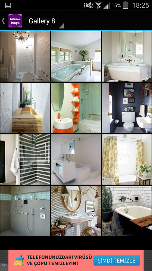 Bathroom designs android apps on google play for Bathroom redesign app