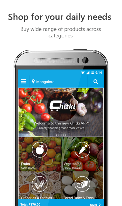 Grocery Shopping App New