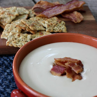 Baby Swiss, Bacon and Beer Dip