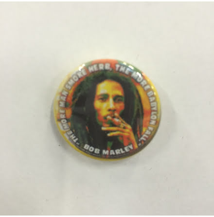 Bob Marley - The More - Badge