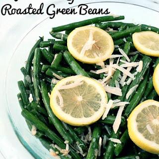 Roasted Green Beans Parmesan Cheese Garlic Recipes
