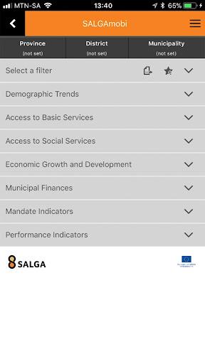 SALGA Mobi screenshot 3