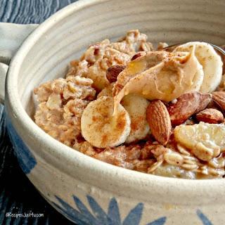 Banana Fosters Oatmeal Bowl