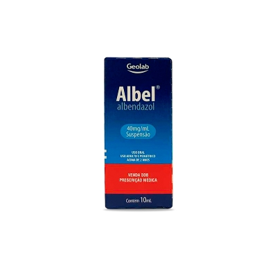 Albendazol Albel Geo Suspension  40mg/mL x 10mL