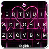 Live Red Heart Keyboard Theme Icon