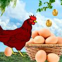 Advance Egg Catcher Surprise: Classic Chicken egg icon