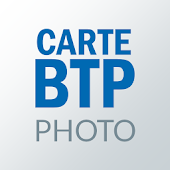 Carte BTP Photo Icon
