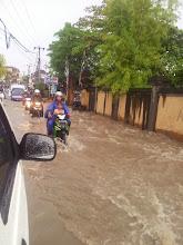 Photo: bali flood