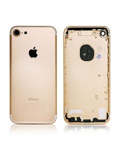 iPhone 7G Housing without small parts HQ Gold