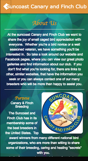 玩免費遊戲APP|下載Suncoast Canary and Finch Club app不用錢|硬是要APP