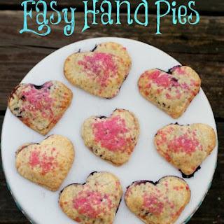 Blueberry Heart Hand Pie Recipe