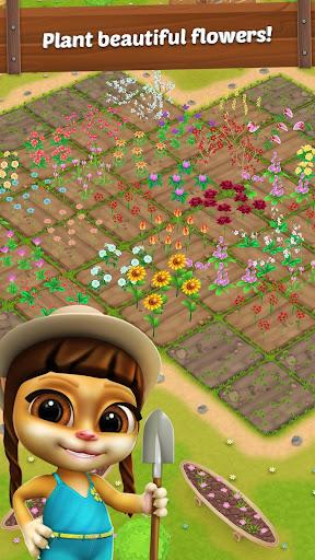 Emma Jardinier: Jeux de Jardin des Fleurs fond d'écran 2