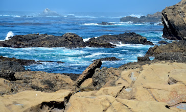 Photo: 105. And of course, it's just fun to watch the waves roll in ... During my first two visits to Point Lobos, it was heavily overcast, but I was so pleased to have blue skies before me for my third, longer visit.