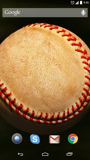 Baseball Ball Live Wallpaper
