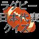 ラグビーワールドカップ日本代表クイズ2019