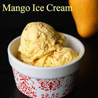 Kesar Mango Ice Cream.