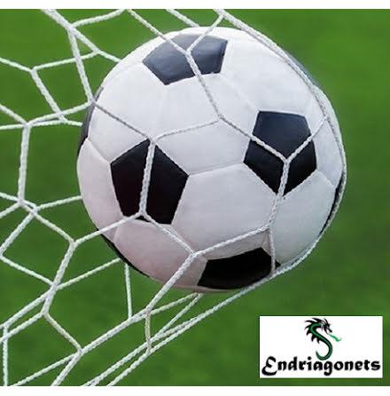 Fotbollsnät 3 m x 2 m, Vit, Spanien