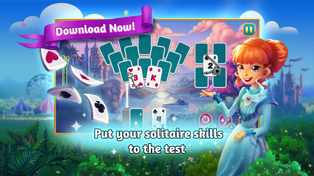 Solitaire Family World Android App Screenshot