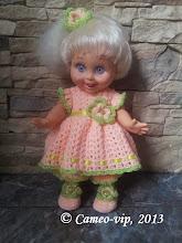 Photo: №F5-2. 250грн. из 4-х единиц Baby Face Galoob: платье+резинка с цветком+панталончики+ туфельки. Можно заказывать по отдельности!