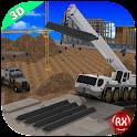 Bridge Builder Crane 3D icon