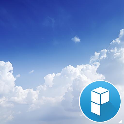 浮云 桌面主题 個人化 App LOGO-硬是要APP